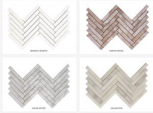 Herringbone Marble Pattern