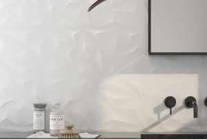 General Ceramic Tiles Radiance Blanco Deco 12x36